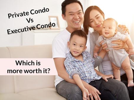 Private Condominiums vs Executive Condominiums. Which is more worth it?