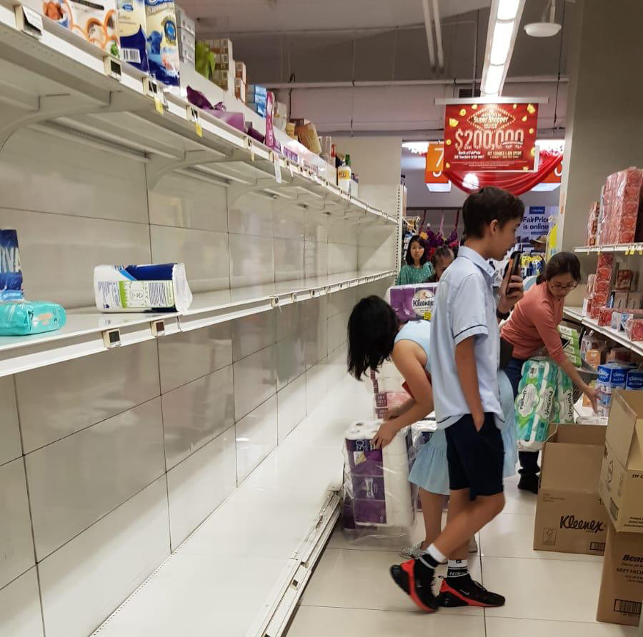 Panic Buying in Singapore