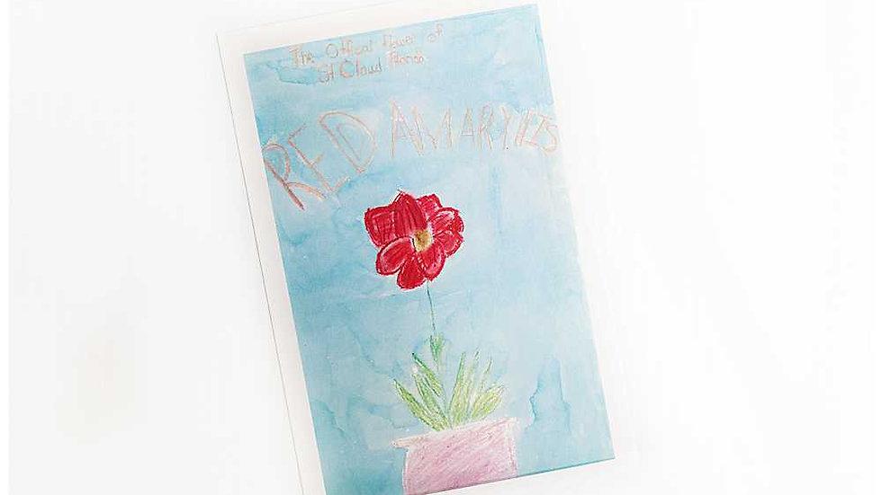 Reagann's Amaryllis Postcard