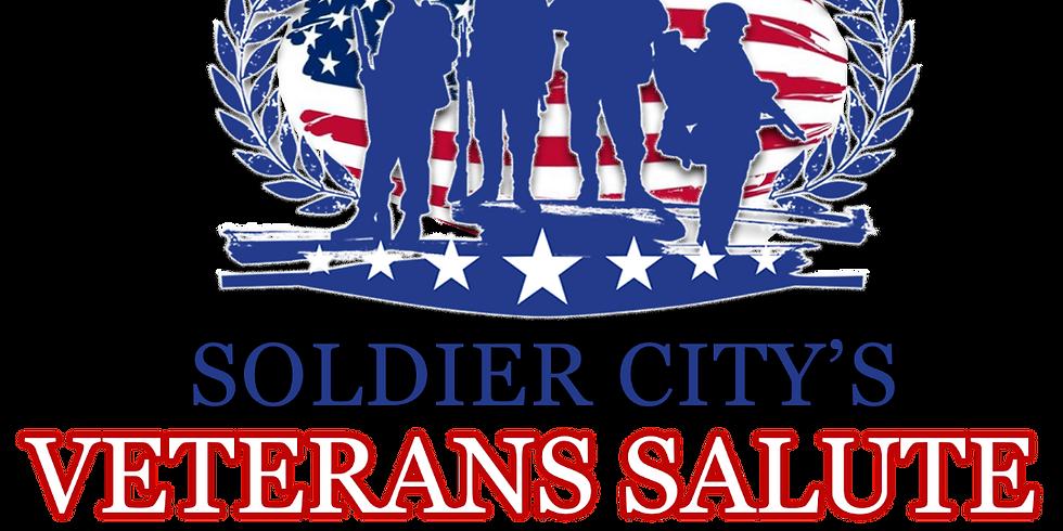Soldier City's Veteran's Salute Dinner 2019