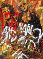 Sid and Nancy art by Tommi Salmelainen.p