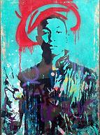 Pharrell Williams art by Tommi Salmelain