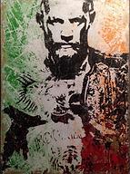 Conor McGregor art by Tommi Salmelainen.