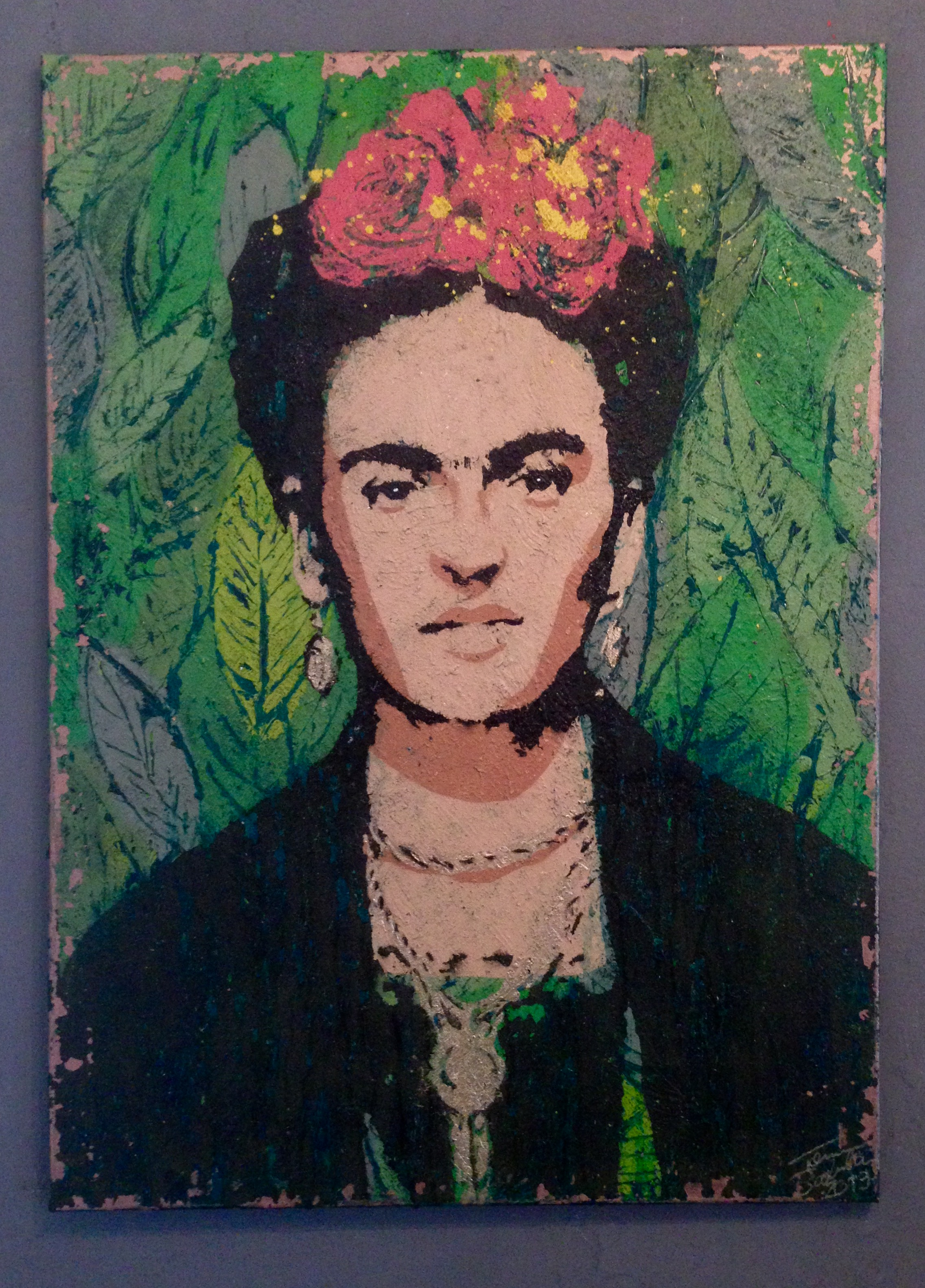 Frida Kahlo by Salmelainen