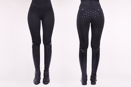 Mathilde (Full Seat Leggings) - Onyx