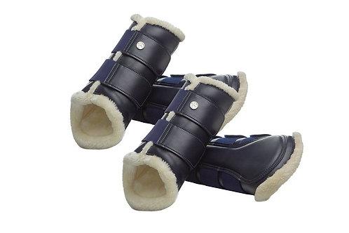 Brushing Boots - Deep Sapphire