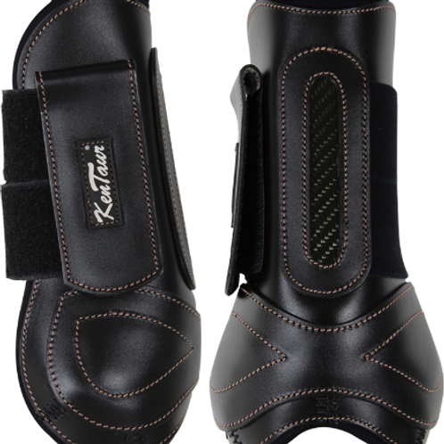 Velcro Leather Front Jumping Boots