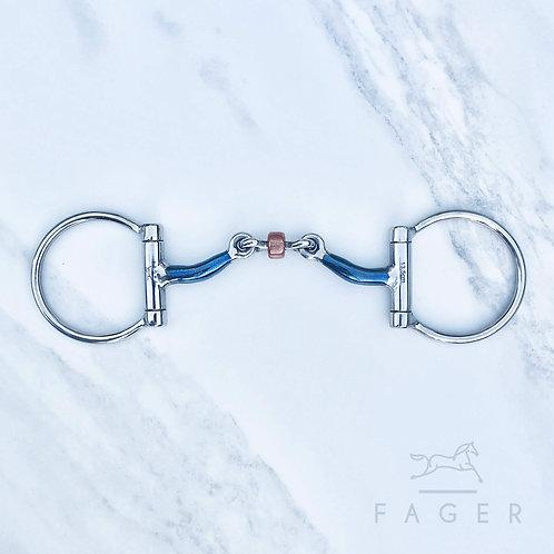 Fagers Tongue Relief Copper Roller Dee Bit - J U L I A