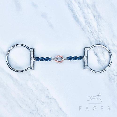 Fagers Twisted Circle Link Dee Bit - O L I V E R