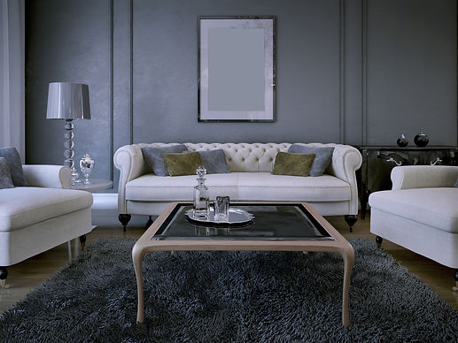 Luxury living room in art deco style. Da