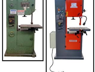 Por que reformar ou adequar uma máquina serra fita antiga?