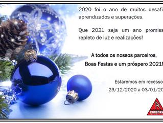 Boas Festas e um próspero 2021!