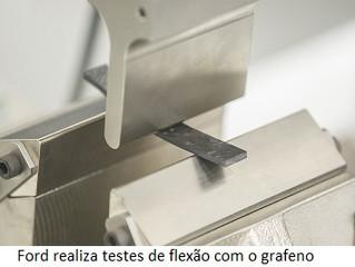 Ford será pioneira no uso do grafeno em veículos