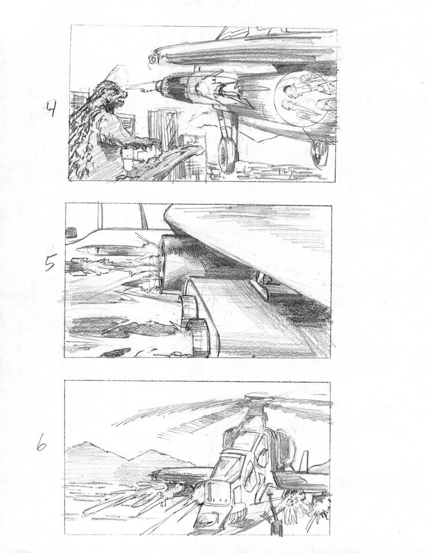 Godzilla page 2