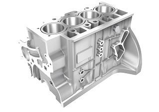 O desafio de usinar blocos de motor bimetálicos