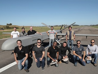 Empresa nacional lança drone de grande porte e baixo custo