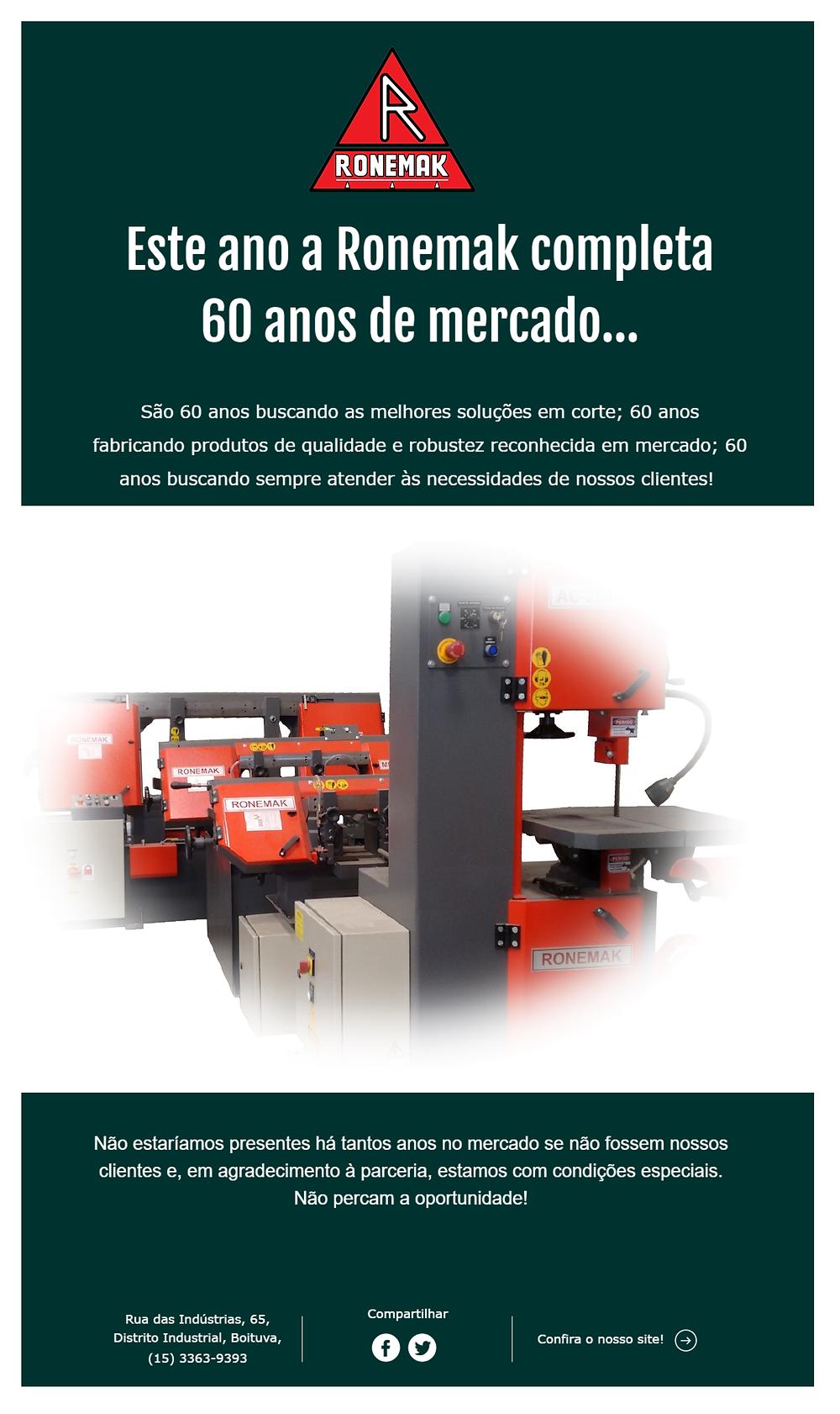 Fabricante de máquinas serra de fita, cortadores de tubos e afins