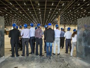 São Paulo Expo recebe expositores da FEIMEC e parceiros para visita à reta final das obras