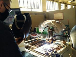 Pesquisa inédita testa impressão 3D com máquina de solda
