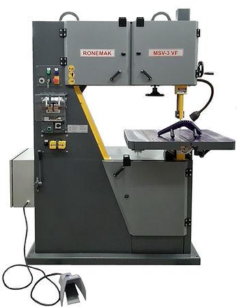 serra de fita Ronemak MSV 3 VF com soldador de fita