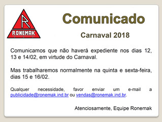Comunicado - expediente - Carnaval