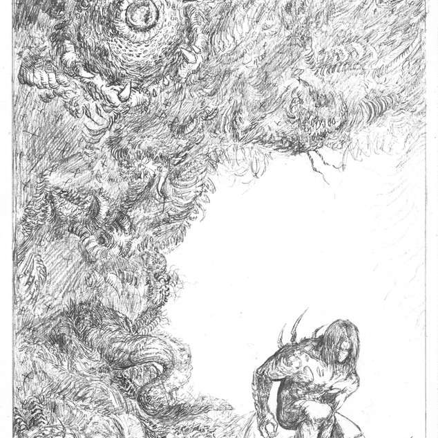 The Darkness pencils