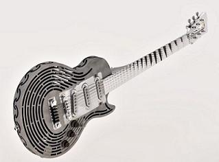 Sandvik produz guitarra em metal, inquebrável...
