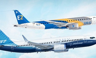 Boeing compra parte da Embraer
