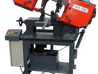 Relançamento: máquina serra de fita horizontal SR 180