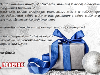 A Ronemak deseja Boas Festas a todos!