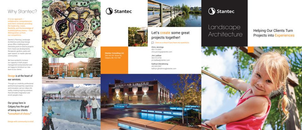 Stantec 2018 Landscape Architecture Brochure