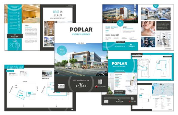 Poplar Centre Custom Brochure Design