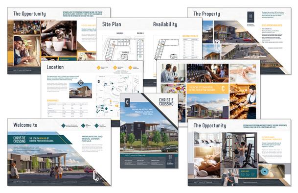 Christie Crossing Brochure Design