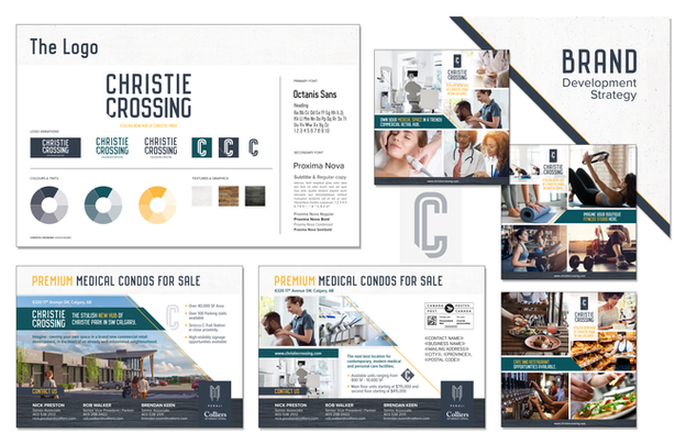 Christie Crossing Branding & Identity
