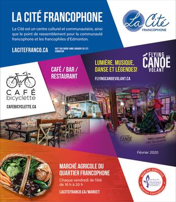 La Cité Francophone Advertising