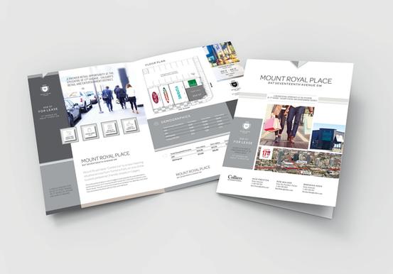 Mount Royal Place Custom Brochure Design