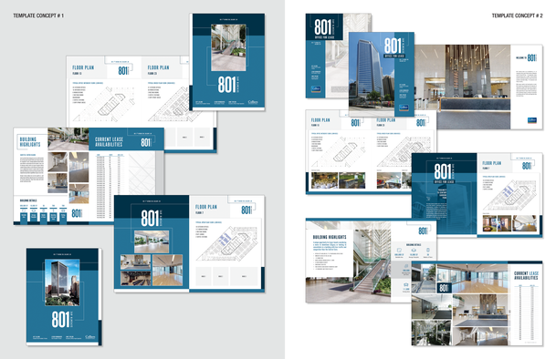 Office For Lease Brochure Concepts