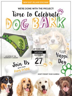 New Dog Park Online E-Invite