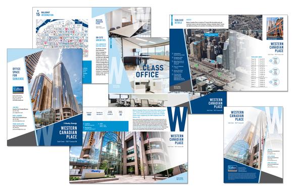 Western Canadian Place Custom Brochure Design