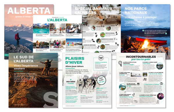 Alberta Official Tourisme Alberta French Tour Guide 2018