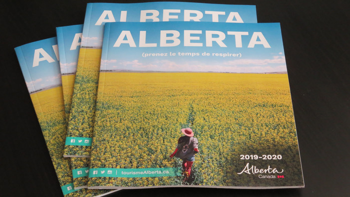 Alberta - Official French Tour Guide
