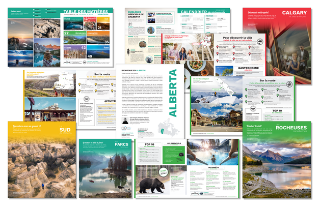 Alberta Official French Tour Guide 2019-2020 Edition