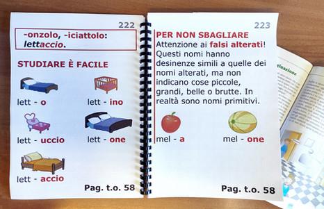 Libri scolastici a caratteri ingranditi