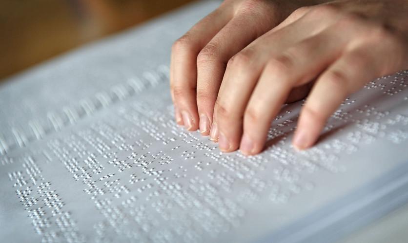 Libri scolastici in braille