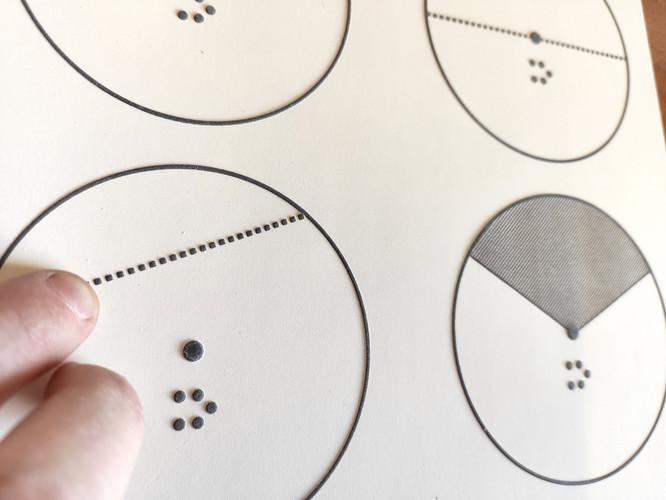 Disegno su carta a Microcapsule