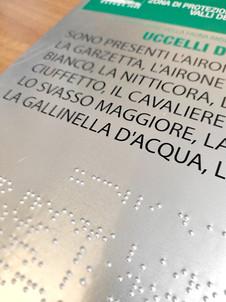 Lastre in alluminio con stampa nero-braille