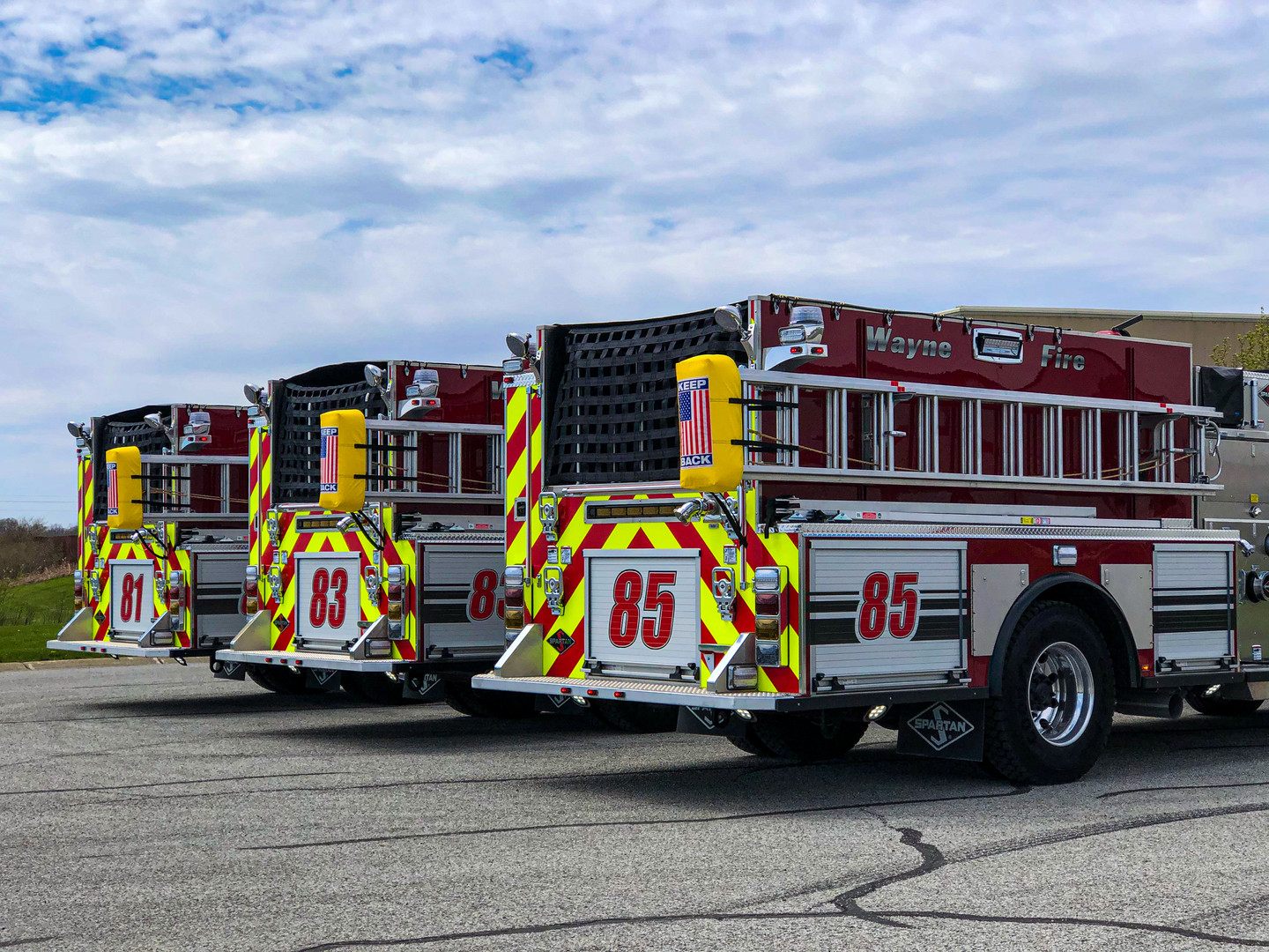 Wayne Twp. Pumpers Option #2 (Vivid) (1