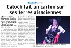 Dernières Nouvelles d'Alsace du 15/09/2019