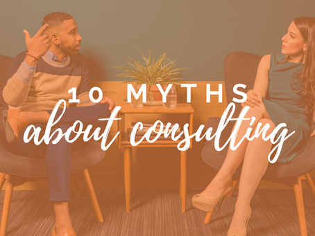 10 biggest myths about independent social impact consulting