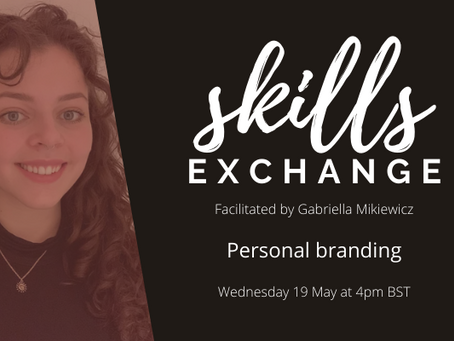 [SKILLS EXCHANGE / 19 May] Personal branding for independent social impact professionals